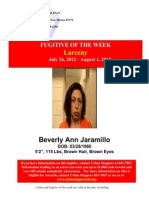 Crime and Fugitive of the Week July 26 - August 1.doc