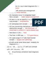 Radiology MCQs