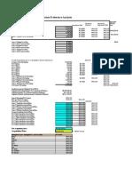 Sample Liquidation Preference Spreadsheet