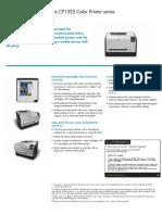 HP LaserJet CP1525 Manual