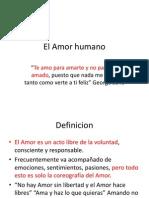 El Amor Humano