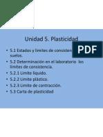 Unidad 5. Plasticidad