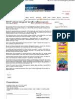 27-07-12  SHCP admite riesgo de lavado en la economía