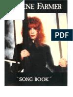 Song Book Mylene Farmer(1)