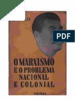 O Marxismo e Problema Nacional e Colonial - Stalin - (XXIII)