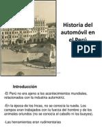 16 Historia del automovil en el Perú