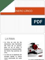 ppt GENERO LÍRICO