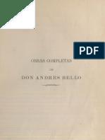 Andrés Bello - Filosofía del entendimiento