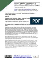 Open Source ECM - Interview ENG - Jeff Potts - Optaros