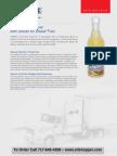 Diesel COLD FLOW IMPROVER fuel additive