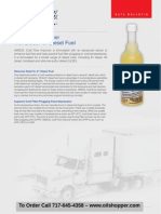 Diesel COLD FLOW IMPROVER fuel additive