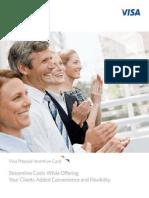 visa incentive card information