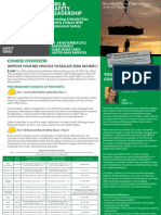 Behavioral Based Safety (BBS) & Safety Leadership, 04 - 08 November 2012 Dubai