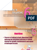 Nutrition in Organisms Ar