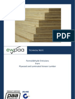 Ewpaa Formaldehyde Emmisions