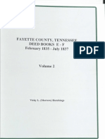 Index to Fayette County, TN Deeds Books E-G, 1835-1837