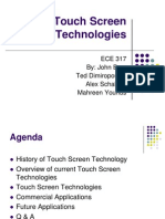 Touch Screen Technologies