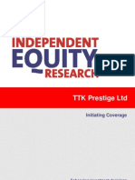TTKPrestige CRISIL Initiating Coverage