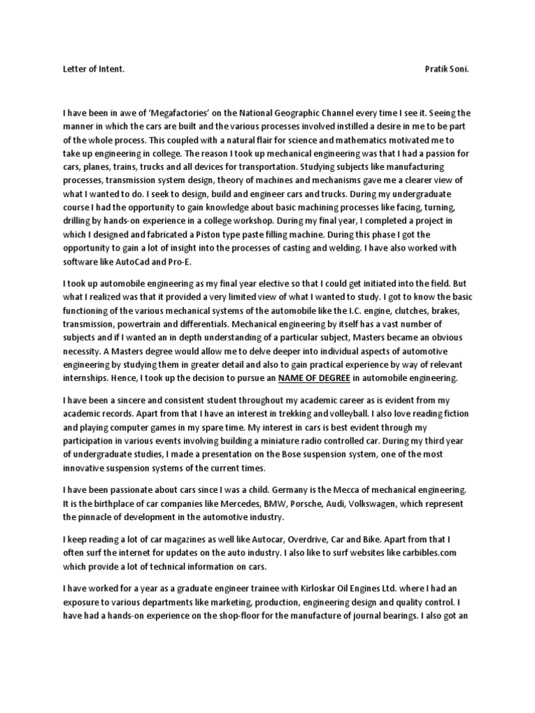 personal statement for masters in civil engineering Feel free to make use of this sample civil engineering personal statement as a great example to help when writing your civil engineering personal statement.