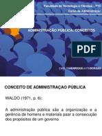 Administracão Pública - Conceitos