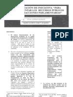 Iniciativa Transparencia Recursos Grupos Parlamentarios FB