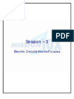 Electric Circuits Kirchoffs Laws_V K Anand Kutty_RMK_S3