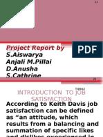 A Study on Job Satisfaction