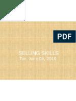 Selling Skills (2)