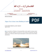 042112 Signs of an Asian Arms Buildup in India Missile Test