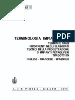 Terminologia Impiantistica