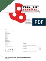 Tool_Kit Festival 2011 a cura Di Giada Pellicari e Martin Romeo (Cat. a cura di Giada Pellicari)
