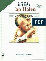 (Guitar Songbook) Van Halen - 1984