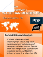 1 Menegakkan Khilafah Islamiyah (Ust Amir)