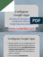 Configurar Google Apps