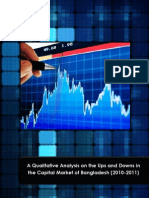 A Qualitative Analysis on the Ups and Downs in  the Capital Market of Bangladesh (2010-2011)