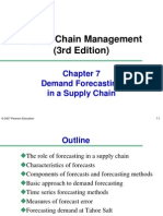 scm report on demand forecasting