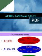Presentation Acids and Bases
