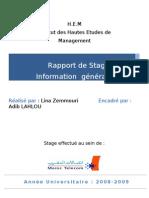 Rapport de Stage IAM Lina Zemmouri