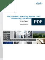 Cisco Ucs Atlantis Citrix
