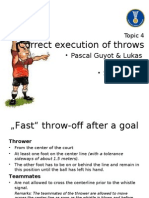 06 Correct Execution of Throws