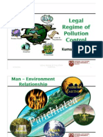 Pollution Control EnvironmentalLaw