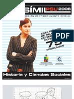Ensayo Oficial Historia Demre 2006