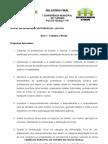 Relatório Final 1a. Conferência Municipal de Turismo - F. do Iguaçu