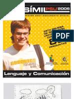 Ensayo Oficial Lenguaje Demre 2006
