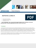 Adaptor Sursa Pc