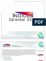 Indicus Calendar 2009