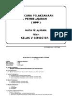 RPP FIQIH KELAS 5