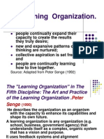 Learning Org