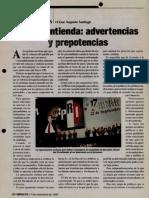 07-11-1999 En la Contienda