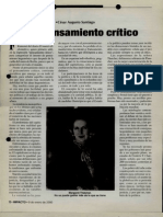 09-01-2000 Del pensamiento critico